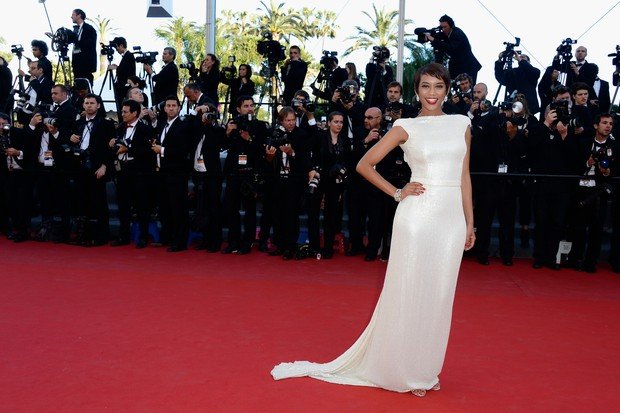Taís Araújo no Festival de Cannes 2013 (Foto: Getty Images)