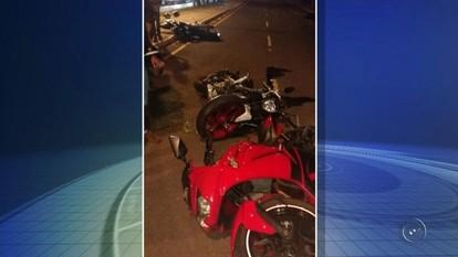Polícia instaura inquérito para investigar acidente com cinco motos em José Bonifácio