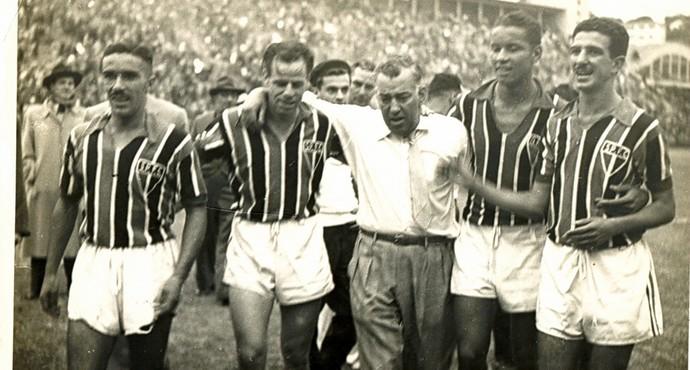 Jorge Gomes da SIlva São Paulo (Foto: Arquivo histórico SPFC)