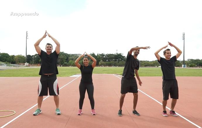 'Olimpiadas do Zap' traz desafios nada convencionais (Foto: Rede Amazônica)