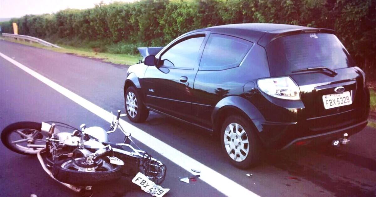 Acidente entre carro e moto deixa 2 mortos na SP-340, na cidade de ... - Globo.com