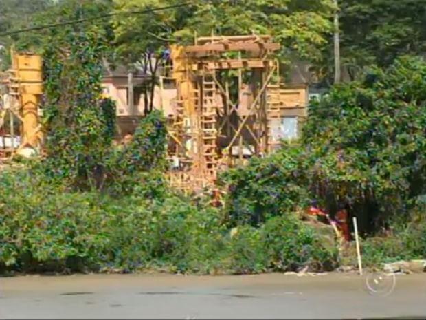 Salto se prepara para inaugurar ponte estaiada sobre o Rio Tietê (Foto: Reprodução/TV TEM)