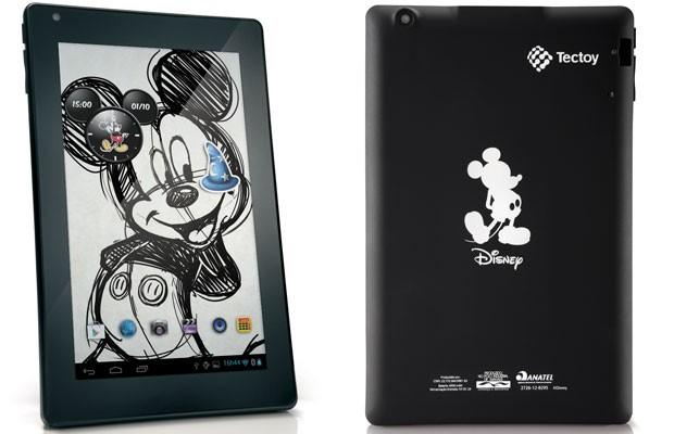 Tablet da Disney, fabricado pela Tectoy, tem tela de 7 polegadas (Foto: Divulgação)