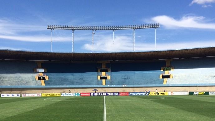 Estádio Serra Dourada - Goiás x Anápolis (Foto: Sílvio Túlio / GloboEsporte.com)