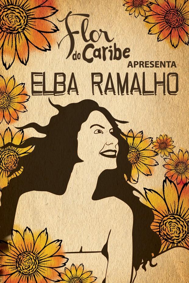 Filipeta do show de Elba Ramalho (Foto: Vila dos Ventos / TV Globo)