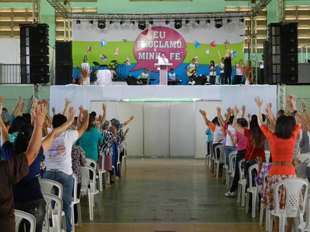 Tema do evento este ano é 'Com a Boca Proclamo Minha Fé'. (Foto: Divulgação/Viver em Cristo)