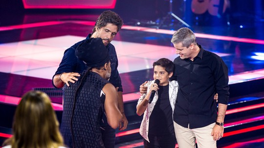 Allexandre Nunes é o primeiro cearense no 'The Voice Kids 2017'
