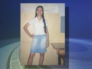 Foto encontrada na casa do suspeito em Rio Preto (Foto: Reprodução/TV TEM)