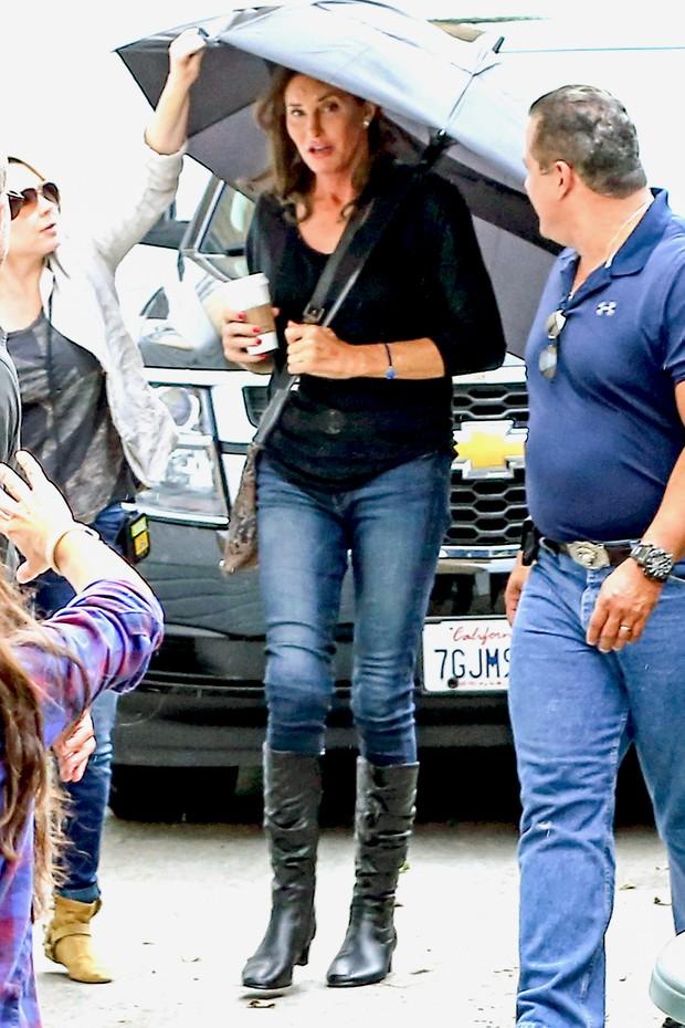 Caitlyn Jenner em Los Angeles, nos Estados Unidos (Foto: Grosby Group/ Agência)