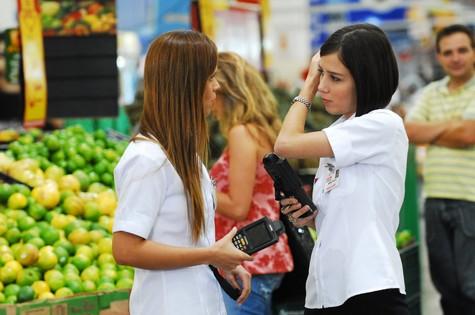 Em cena com Marjorie Estiano em 'Duas caras' (Foto: Divulgação/TV Globo)