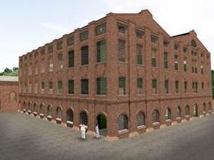Projeção do Museu da Cana-de-açúcar em Piracicaba (Foto: Reprodução)