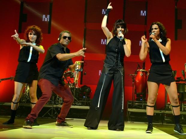 Fernanda Abreu em show no Rio (Foto: Cristina Granato/ Divulgação Fernanda Abreu)
