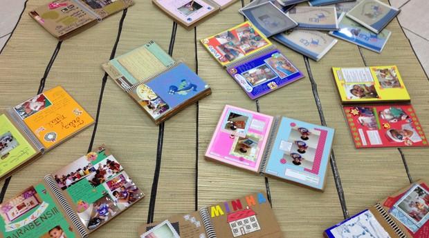 álbum_histórias_crianças (Foto: Divulgação/ Instituto Fazer História)