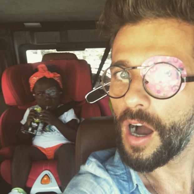 Bruno Gagliasso e Títi (Foto: Reprodução/Instagram)