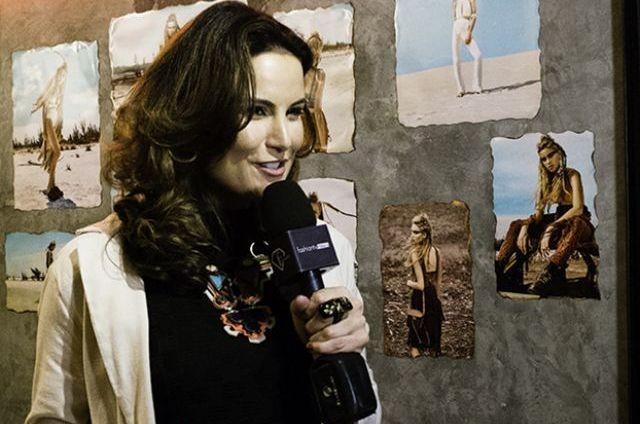 Úrsula Corona apresenta 'Fashion TV news' (Foto: Mike Worsnop)