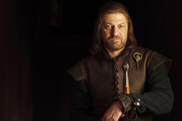 O ator Sean Bean como Ned Stark em Game of Thrones (Foto: Divulgação)