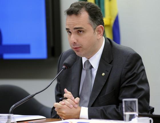 O deputado Rodrigo Pacheco (PMDB-MG), presidente da Comissão de Constituição e Justiça (CCJ) da Câmara dos Deputados (Foto: Lúcio Bernardo Junior/Câmara dos Deputados)