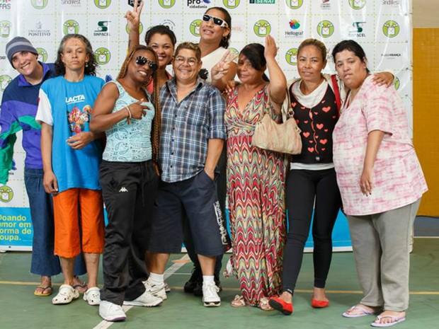 Em 2015, a 'Moda Compartilhada' atendeu 150 pessoas (Foto: Paulo França / Moda Compartilhada / Divulgação)
