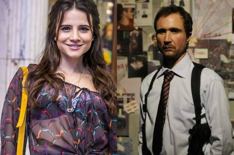Bianca Comparato e João Miguel (Foto: TV Globo)