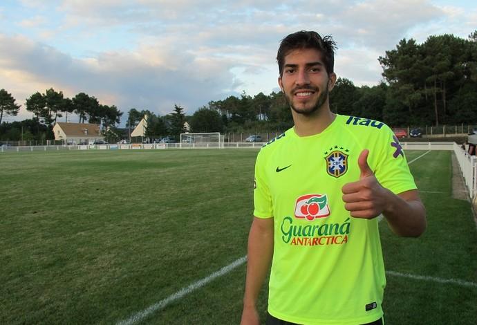 Lucas Silva espera ter sequência no Olympique para voltar ao Real e jogar Olimpíadas (Foto: Felipe Schmidt)