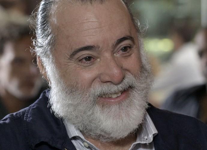 Bandido debocha de ex-vereador após falar com o Pai (Foto: TV Globo)