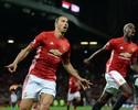 Na estreia de Pogba, Ibrahimovic faz dois e comanda outra vitória do United