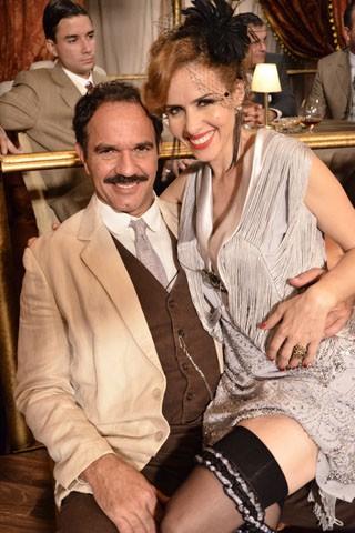 Humberto Martins e Leona Cavalli em Gabriela (Foto: TV Globo / Raphael Dias)
