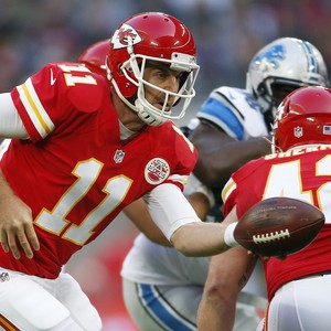 NFL Alex Smith Kansas City Chiefs Londres (Foto: Reuters)