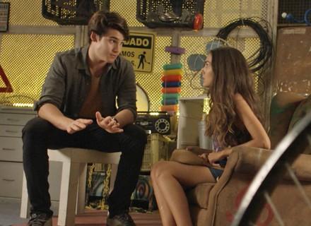 Luciana e Rodrigo defendem suas famílias em conversa franca