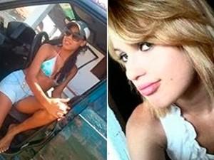 Iara do Nascimento Silva, de 17 anos, Ruty Lúcia Silva de Azevedo, de 19 anos, estão entre as vítimas da chacina em Lagoa de Pedras,  no RN (Foto: Arquivo da família)