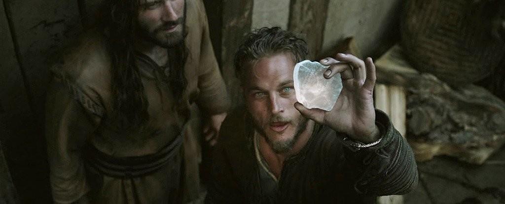 Pedra do Sol retratada na série 'Vikings', da emissora History (Foto: Reprodução/ History)