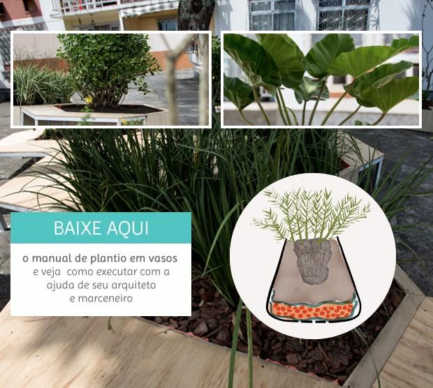 L Fora - Manual Plantio em Vasos (Foto: GNT)