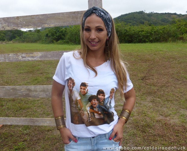 Valesca Popozuda falou sobre sua relação com o filho (Foto: Caldeirão do Huck/TV Globo)
