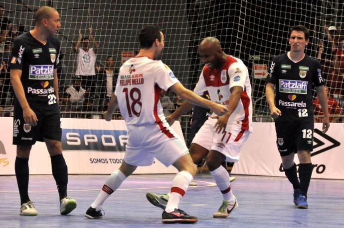 Sorocaba Futsal x Concórdia, Liga Nacional, LNF (Foto: Divulgação / Futsal Brasil Kirin)