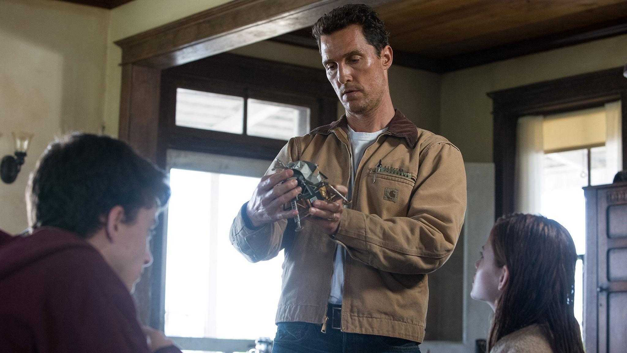 Matthew McConaughey em seu novo filme 'Interestelar'. (Foto: Divulgação)