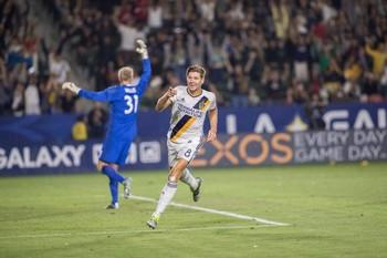 Gerrard Los Angeles Galaxy (Foto: Divulgação)