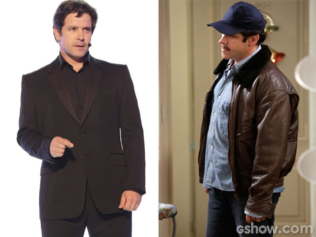 Se liga no estilo do Jonas de hoje e no jaquetão e boné do Jonas láaaaaa do passado. Quanta diferença! (Foto: Geração Brasil / TV Globo)