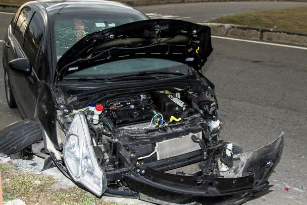 Ivi Pizzott sofre acidente de trânsito (Foto: Marcos Mello / Divulgação)