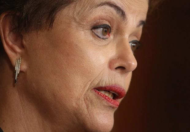 A ex-presidente Dilma Rousseff em imagem de 2015 (Foto: Chip Somodevilla/Getty Images)