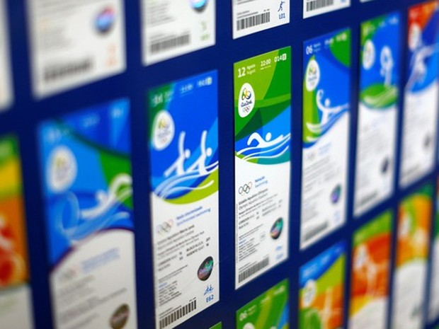 Ingressos para a Olimpíada (Foto: Ricardo Moraes/Reuters)