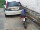 Moto roubada na capital é apreendida com placa adulterada no interior