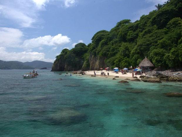 Rincón de Guayabitos, na costa do Pacífico do México (Foto: CVB Riviera Nayarit/Divulgação)