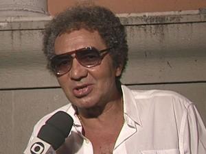 Apesar de ser conhecido pelo jeito extrovertido nas entrevistas e apresentações, Rossi dizia ser tímido (Foto: Reprodução / TV Globo)