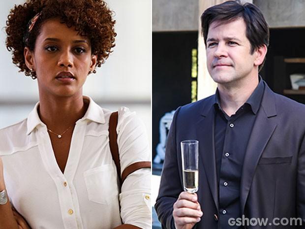 Jonas e Pamela ou Jonas e Verônica? (Foto: Geração Brasil / TV Globo)