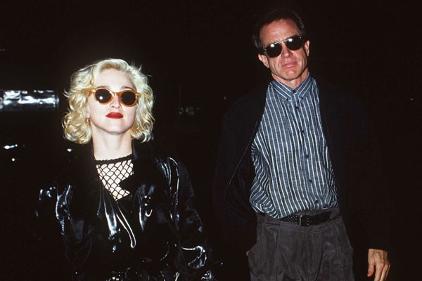 Madonna e Warren Beatty (Foto: Getty Images)