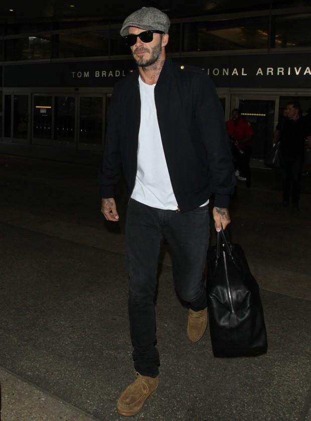 David Beckham: esse entende das coisas (Foto: AKM-GSI)
