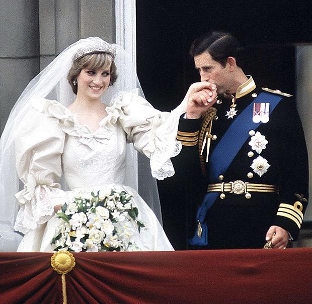 Casamento de Charles e Diana (1981)  (Foto: Clara Molden, Tim Graham / Getty Images, Divulgação)