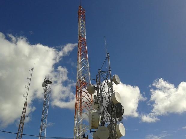 Torre foi instalado no útlimo sábado (12) (Foto: Divulgação)
