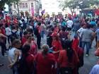 Protestos a favor do governo federal são realizados no interior do RS
