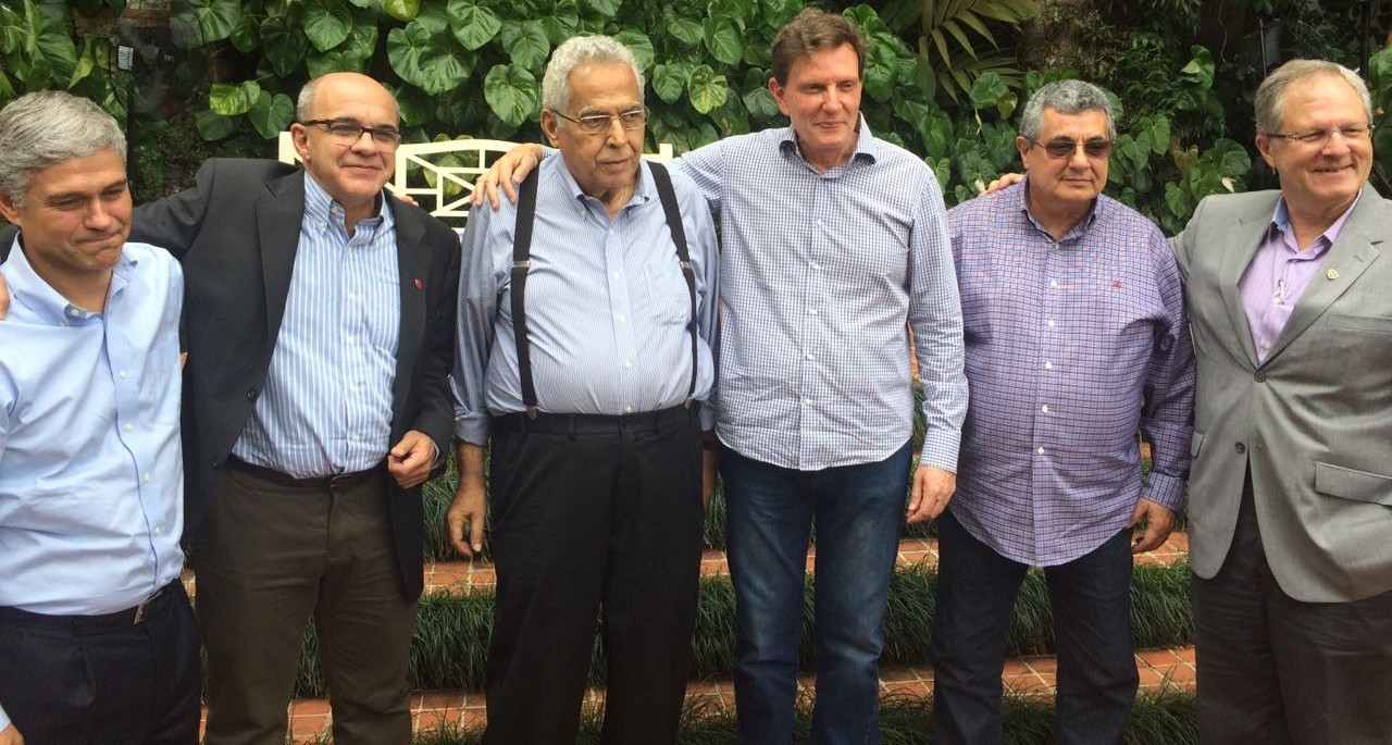 Peter Siemsen, Bandeira de Mello, Eurico Miranda, Crivella, Rubens Lopes e Carlos Eduardo Pereira